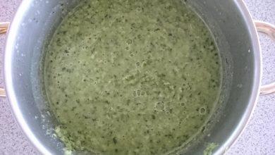 Photo of Kohlrabiblätter-Suppe