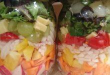 Photo of Salat im Glas