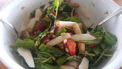 Photo of Spargel-Erdbeer-Salat