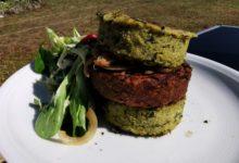 Photo of Bärlauch-Polenta-Burger